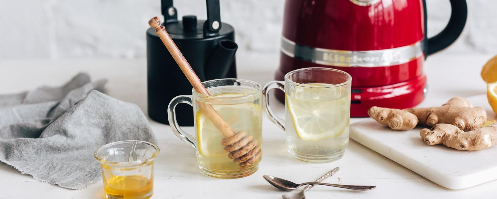 Thé au citron et au gingembre | Recettes | Site officiel KitchenAid