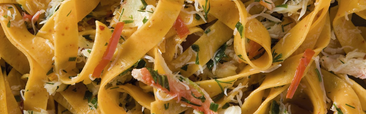 Tagliatelle With Crab Lemon And Fresh Herbs Recipes